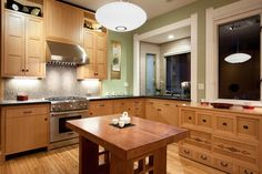Kitchen - asian - kitchen - san francisco - John Lum Architecture, Inc. Asian Kitchen, Japanese Kitchen, Kitchen Furniture, Kitchen Decor, Kitchen Ideas, Kitchen Designs, Teal Kitchen, Japanese Home Design, Japanese Style