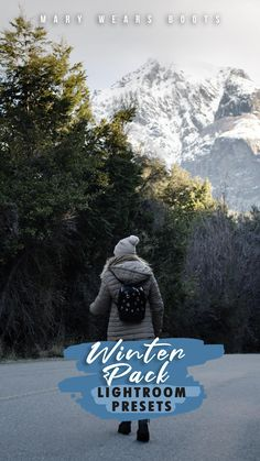 filtros para fotos en invierno, montaña, travel Travel Packing, Travel Style, Lightroom Presets, Winter, Art, Edit Photos, Winter Time, Art Background, Kunst