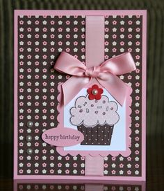 Krystal's Cards and More: Crazy For Cupcakes