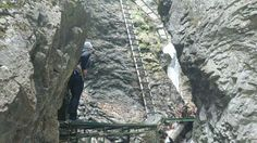 Most fun hike I've ever been on - Slovensky Raj Slovakia (x-post /r/hiking)