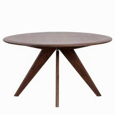 Madeleine Home Marley Light Mahogany Round Wood Dining Table MH-TB-828 - The Home Depot White Round Dining Table, Round Wood Dining Table, Round Table Top, Modern Furniture Online, Cool Furniture, Modern Table, Dinner Table, Modern Aesthetics, Office Desks