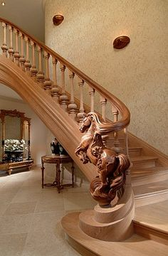 Someday, when I win the lotto! Horse staircase art. Trapart - Gallery of stairs, exclusive staircases made by Trapart