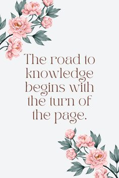 The road to knowledge beings with the turn of the page #knowledge #inspirationalquotes #readingquotes #lifequotes #motivationalquotes #motivation #inspiration via @tlcforcoaches Literature Quotes, Writer Quotes, Reading Quotes, Book Quotes, Life Quotes, Spirituality Books, Knowledge Quotes, Attitude Of Gratitude, Quote Board