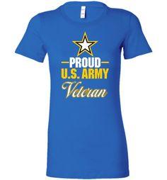 Proud U.S. Army Veteran Women's T-Shirt