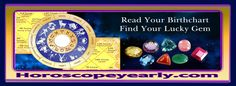 Gems, Astrology and Remedies - Gems need to be washed with proper herbs and the person wearing it needs to maintain a high level of purity. It is better to wear them around neck then in fingers. Every gem should be purified before wearing. The purification can be performed by keeping gems in their respective herbs for a period of twenty four hours... Continue Reading:  http://www.horoscopeyearly.com/gems-astrology-and-remedies/