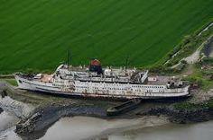 Image result for abandoned ships uk