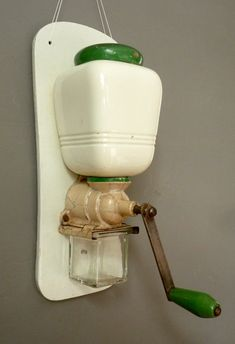 Vintage Coffee Grinder Wall Mounted - Van Nelle Art Deco - I have this one on display in my kitchen
