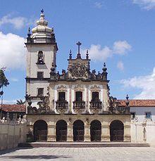 Barroco no Brasil – Igreja de S. Francisco, João Pessoa, uma adaptação bastante aproximada da igreja de Cairu.