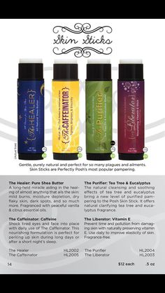 The Skin Stick www.perfectlyposh.com/angiepposh