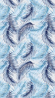 Seamless exotic pattern with tropical leaves on a white background. Iphone Background Wallpaper, Aesthetic Iphone Wallpaper, Aesthetic Wallpapers, Cute Wallpaper Backgrounds, Screen Wallpaper, Wallpaper Quotes, Fond Design, Blue Wallpapers, Phone Wallpapers
