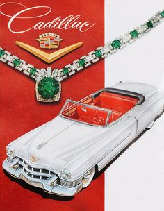 Cadillac #cadillac #ad #print #luxury #convertible #cars #classic #timeless #vintage #advertisement #auto #potamkinnyc #Nyc