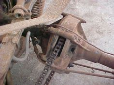 Chain driven differential on the HD Servi-Car