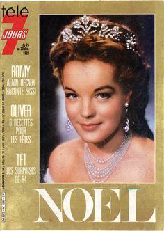 Couverture 1230 du magazine TÉLÉ 7 JOURS avec Romy Schneider pour «SISSI» [Saga]