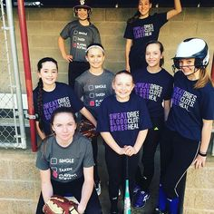 These girls are #softballstrong