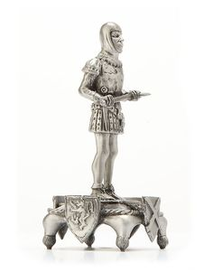 Battle of BannockBurn Luxury chess set piece - Battle Axe Man at Arms - Pawn