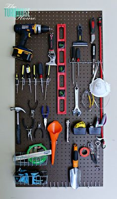 Add to my to-do list! organize my tools! nice! from twelveOeight