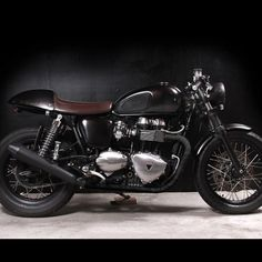 Nice mods to Triumph Thruxton