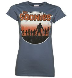 TruffleShuffle Womens The Goonies Retro T-Shirt Looking for a swashbuckling tribute to a totally top 80s flick? Weve unearthed this treasure of a Goonies tee, inspired by the awesome original movie poster artwork and a ideal way to show your fandom http://www.MightGet.com/february-2017-3/truffleshuffle-womens-the-goonies-retro-t-shirt.asp