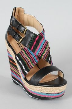 Colorful wedges for Spring/Summer