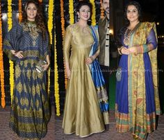 Celebrity Diwali Style Dresses