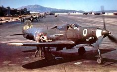 USAAF Bell P-39 Airacobra, at Hamilton Army Airfield, California, July 1943