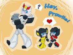 TF: Hey Prowlie by NamiAngel.deviantart.com on @deviantART