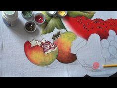 Frutas em Tecido (Aula 48/ Parte1) - YouTube
