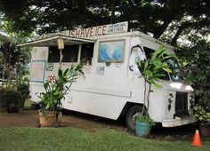 Hawaiian Ahi Tuna Poke History and Recipe Ice Car, Ice Truck, Shaved Ice Recipe, Ahi Tuna Poke, Poke Recipe, Hawaiian Dishes, What To Cook, Shave Ice, Hawaii Travel