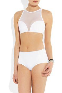 Beth RichardsFaye mesh-paneled bikini