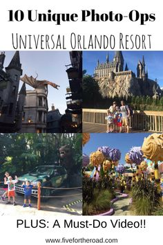 Photo Op Universal Orlando Resort
