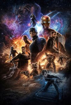 After the devastating events of Avengers: Infinity War, the universe is in ruins due to the efforts of the Mad Titan, Thanos. Marvel Comics, Marvel E Dc, Marvel Heroes, Captain Marvel, Captain America, Poster Marvel, Avengers Poster, Marvel Funny, Marvel Universe