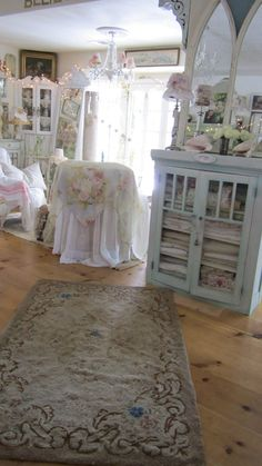 Beautiful vintage latch hook rug with roses by whitecottageinhills, $145.00