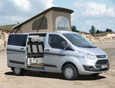 The all-new Ford Transit Custom Camper Reimo of offers as a basis for a new recreational vehicle and camper with pop formally: Powerful plenty of interior space, high driving comfort and a modern, sophisticated and energy efficient engine are only ... Read More