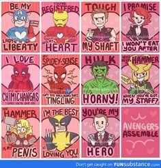 Avenger's Valentines!