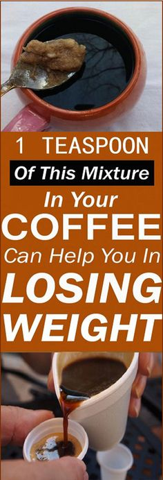 1 Teaspoon of This Mixture in Your Coffee Can Help You in Losing Weight#health #beauty #getrid #howto #exercises #workout #skincare #skintag #bellyfat #homeremdieds #herbal