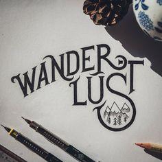 Wander Lust #lettering #inspiration #itsmesimon