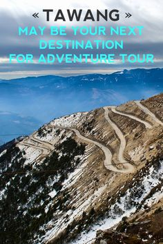 If you are a adventure lover and love hills, come and visit Tawang and feel in love with it.