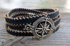 Man Bracelet - Man Compass Bracelet - Man Jewelry - Men's Jewelry - Men's Bracelet - Man Gift - Husband Gift - Boyfriend Gift - Guys Jewelry