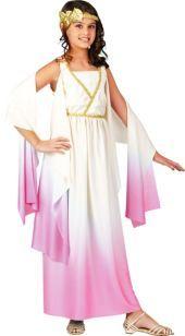 Athena Goddess Costume for Girls