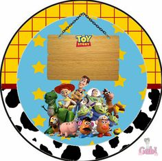 Fazendo a Propria Festa: Kit de Personalizados Gratuitos Tema Toy Story