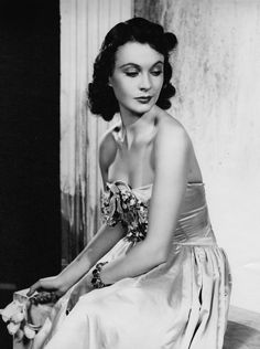The beautiful Vivien Leigh.