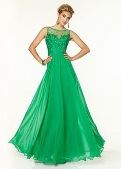97129 Prom Dresses / Gowns Chiffon with Beaded Embroidery Green Prom Dresses 2015, Designer Prom Dresses, Evening Dresses, Prom 2015, Wedding Dresses, Chiffon Gown, Special Occasion Dresses, Holiday Dresses, Dress Collection