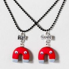 Are you & your BFF inseparable? Gift this Magnetic Attraction Necklace Set for Best Friends Day