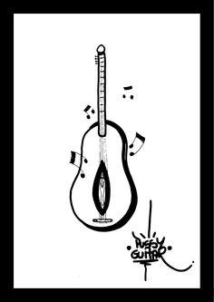 Pussy Guitar.