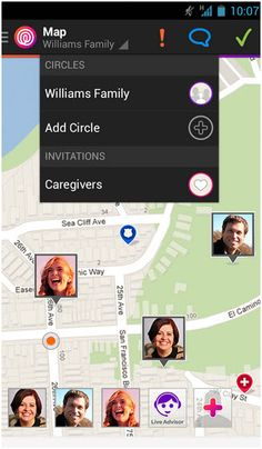 - Family Locator +more for Android & iOS / free & premium services Family Locator App, Family Circle, Apps, Emergency Response, Know Who You Are, Family Events, Marketing Digital, Invitations, Android