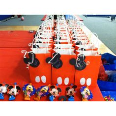 Mickey Treat Bags