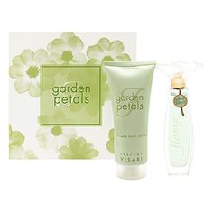 Fleurage Garden Petals by Perfumes Visari for Women 2 Piece Set Includes 30 oz Eau de Toilette Spray  60 oz Perfumed Body Lotion ** Find out more about the great product at the image link.