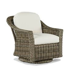 Swivel Glider Lounge Chair from the St. Simons collection at LaneVenture.com