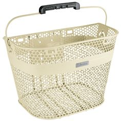 Electra QR Linear Basket in Cream