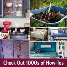 Turn all of your projects into #diywins with our new how-to library >> http://www.diynetwork.com/how-to?soc=pinterest